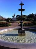 喷泉在新奥尔良 免版税库存照片