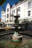 喷泉在汉堡Bergedorf,德国 库存图片