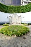 喷泉在澳门 免版税库存图片