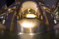 喷泉在澳门 免版税图库摄影
