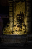喷泉在瓦莱塔 免版税库存照片