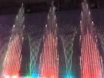 喷泉在纽黑文,康涅狄格 库存图片