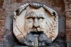 喷泉在罗马 库存图片
