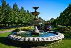 喷泉在董事公园在伦敦 库存图片