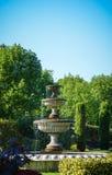 喷泉在董事公园在伦敦 免版税库存照片