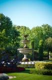 喷泉在董事公园在伦敦 免版税库存图片