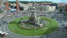 喷泉在巴塞罗那
