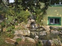 喷泉在Gevgelija镇 马其顿 图库摄影