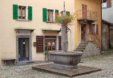 喷泉在Intagra 免版税库存照片