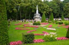 喷泉在Petehof 库存照片