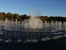 喷泉在Tsaritsyno公园 库存照片