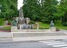 喷泉埃米尔Wikstrom 图库摄影