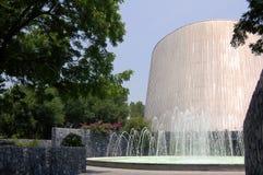 喷泉天文馆 免版税图库摄影
