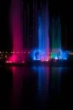 喷泉展示Aquanura 免版税库存照片