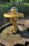 喷泉庭院 免版税库存照片