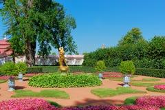 喷泉庭院 图库摄影