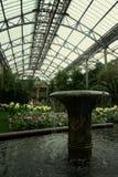 喷泉庭院 免版税库存图片
