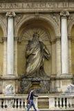 喷泉意大利摩西・罗马 库存照片