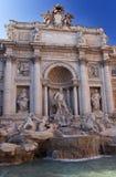 喷泉意大利罗马trevi 免版税库存照片