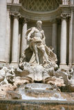 喷泉意大利罗马trevi 库存图片