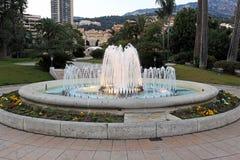 喷泉摩纳哥 库存照片