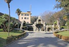 喷泉梵蒂冈 库存照片