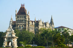 喷泉植物群在市孟买 库存照片