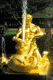 喷泉氚核 免版税库存图片