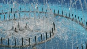 喷泉水注 影视素材