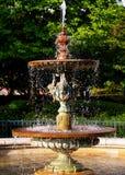 喷泉水 免版税图库摄影