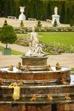 喷泉法国宫殿凡尔赛 免版税库存图片