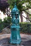 喷泉法国巴黎华莱士 库存图片