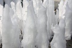 喷泉浪花 库存图片