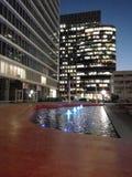 喷泉照明设备 免版税库存图片