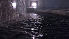 喷泉特写镜头 影视素材