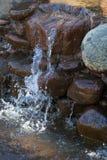 喷泉特写镜头  图库摄影