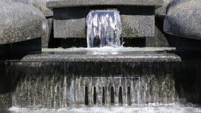 喷泉的片段 股票视频