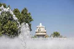 喷泉的细节 库存图片