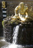 喷泉皮特petrodvorets 图库摄影