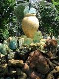 喷泉石头 免版税库存图片