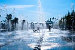 喷泉胡同  免版税图库摄影