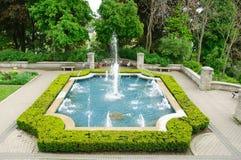 喷泉装饰物 免版税库存图片