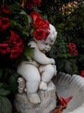 喷泉雕塑- Alhaurin de la Torre 库存照片
