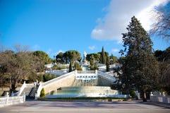 喷泉雕象 免版税库存照片