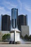 喷泉高层 库存照片