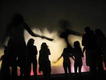 喷泉魔术 免版税库存图片