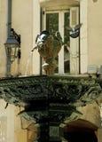 喷泉,普罗旺斯 库存照片