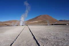 喷泉,智利 库存图片