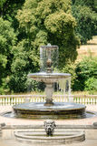 喷泉从18世纪在波茨坦 库存照片