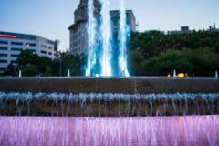喷泉巴尔卡角 免版税库存照片